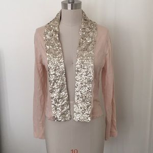 J crew cardigan with sequins